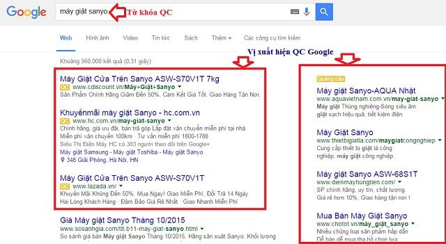 Quảng cáo tìm kiếm Google Search là hình thức rất phổ biến hiện nay